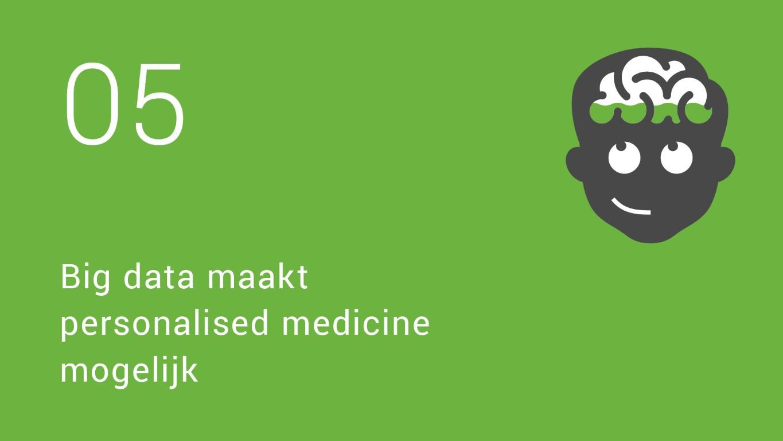 5 Big data maakt personalised medicine  mogelijk