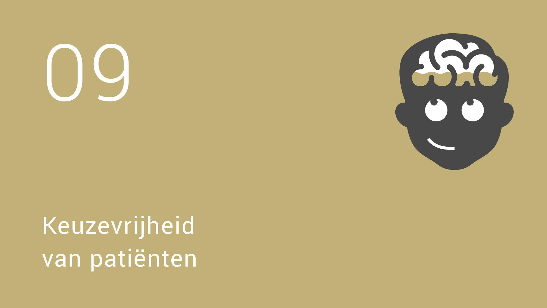 Erik-Jan Vlieger | Het brein van de nieuwe dokter | 9 Keuzevrijheid  van patiënten